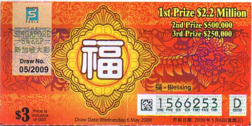Singapore Pools | William Rant's and Photos Blog
